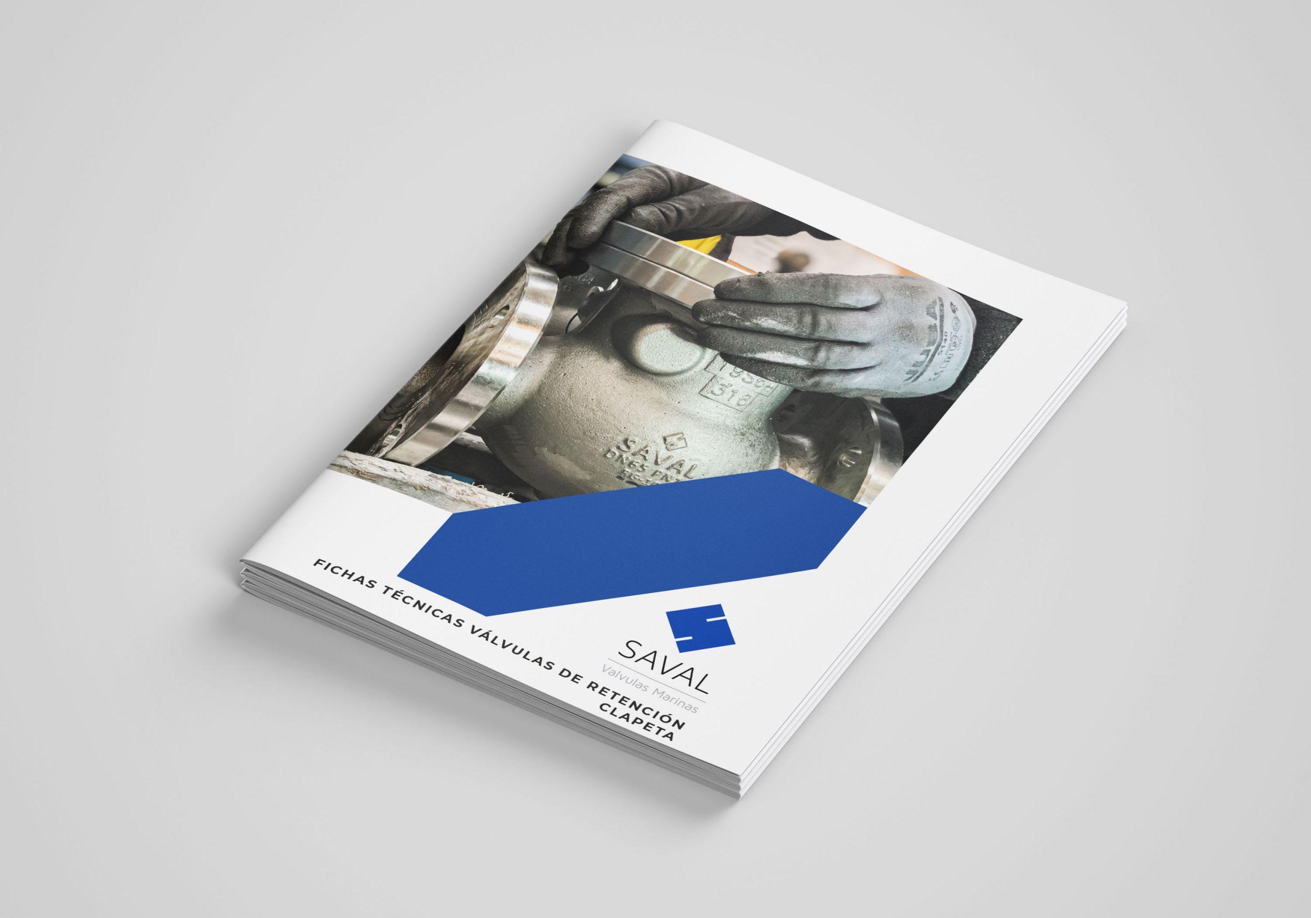 Catálogo Saval Válvulas de retención clapeta